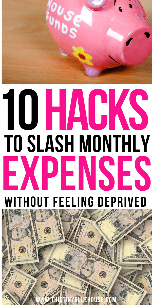 Are you looking to slash your budget in the new year? Here are 10 super simple ways you can save more money every month without ever feeling deprived!