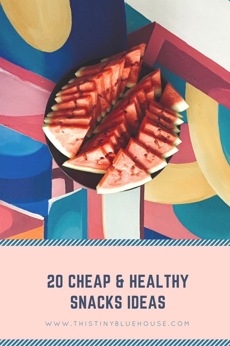 20 Cheap & Healthy Snack Ideas | Frugal snacks | Frugal Food | Toddler Snacks | Healthy Snacks | Cheap Snacks | Good food | Toddler food