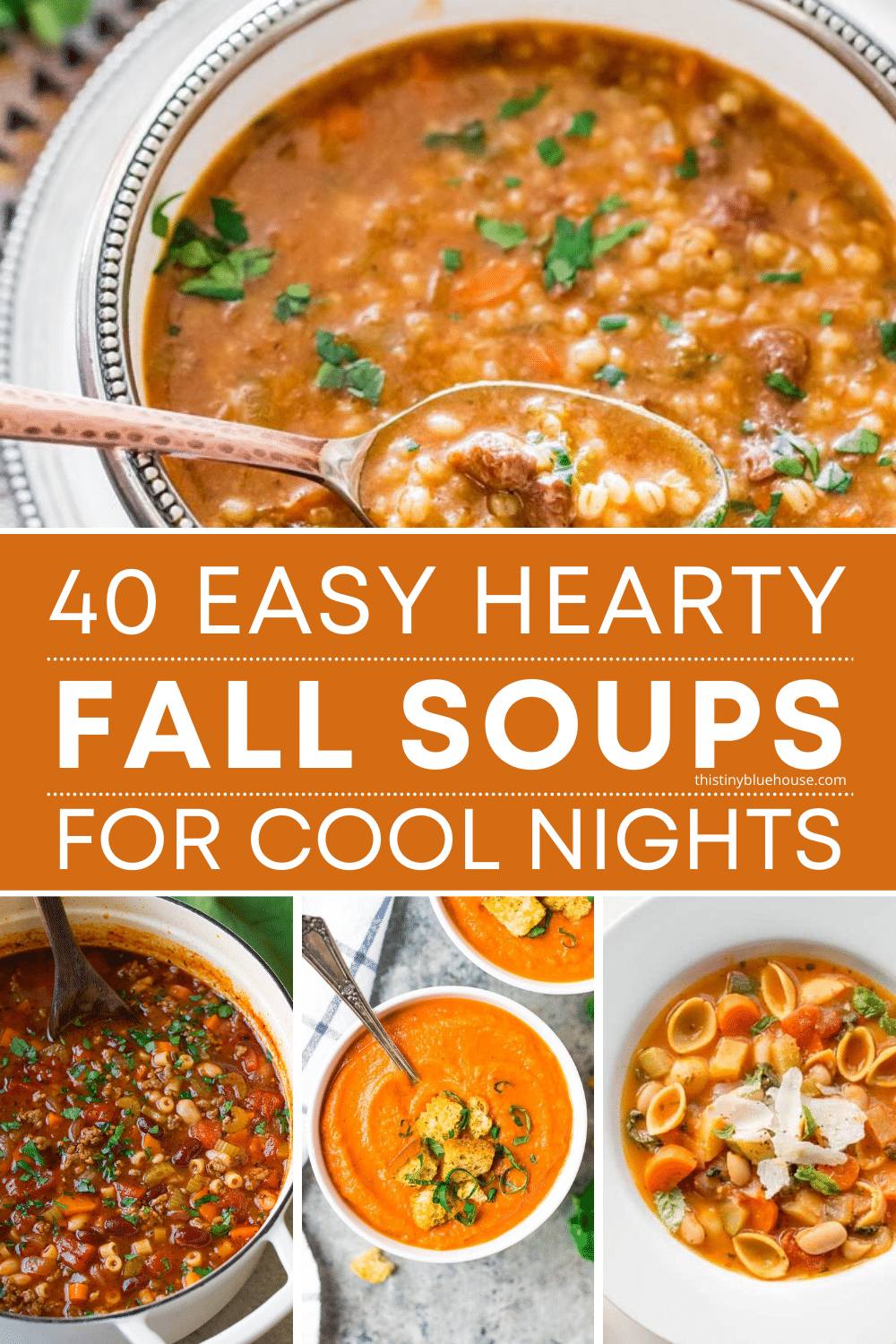 40 Must Try BEST Easy Hearty Fall Soups
