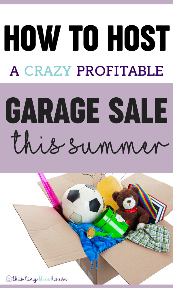 With spring right around the corner and spring cleaning at its peak why not plan to have a garage sale? Yard sales are a great way to sell off household clutter and make a good amount of extra cash. Here are 5 crazy easy hacks to host a crazy profitable garage sale and unload clutter for good.