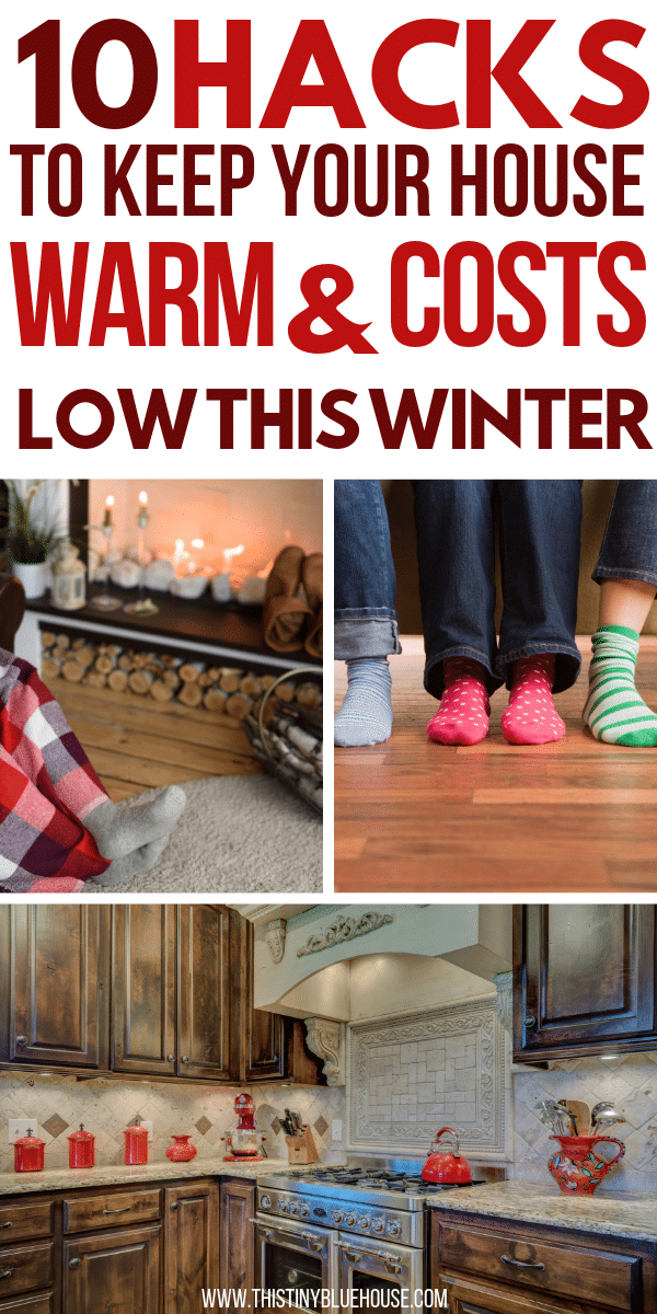 Slash your utility bill by using these 10 genius hacks to keep your house toasty warm this winter. Keeping your house warm doesn't have to cost a fortune. Here are 10 beyond efficient ways to keep your house nice and warm and your utility bill down.