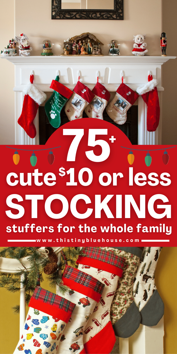 75+ ($10 or less) stocking stuffers for the whole family
