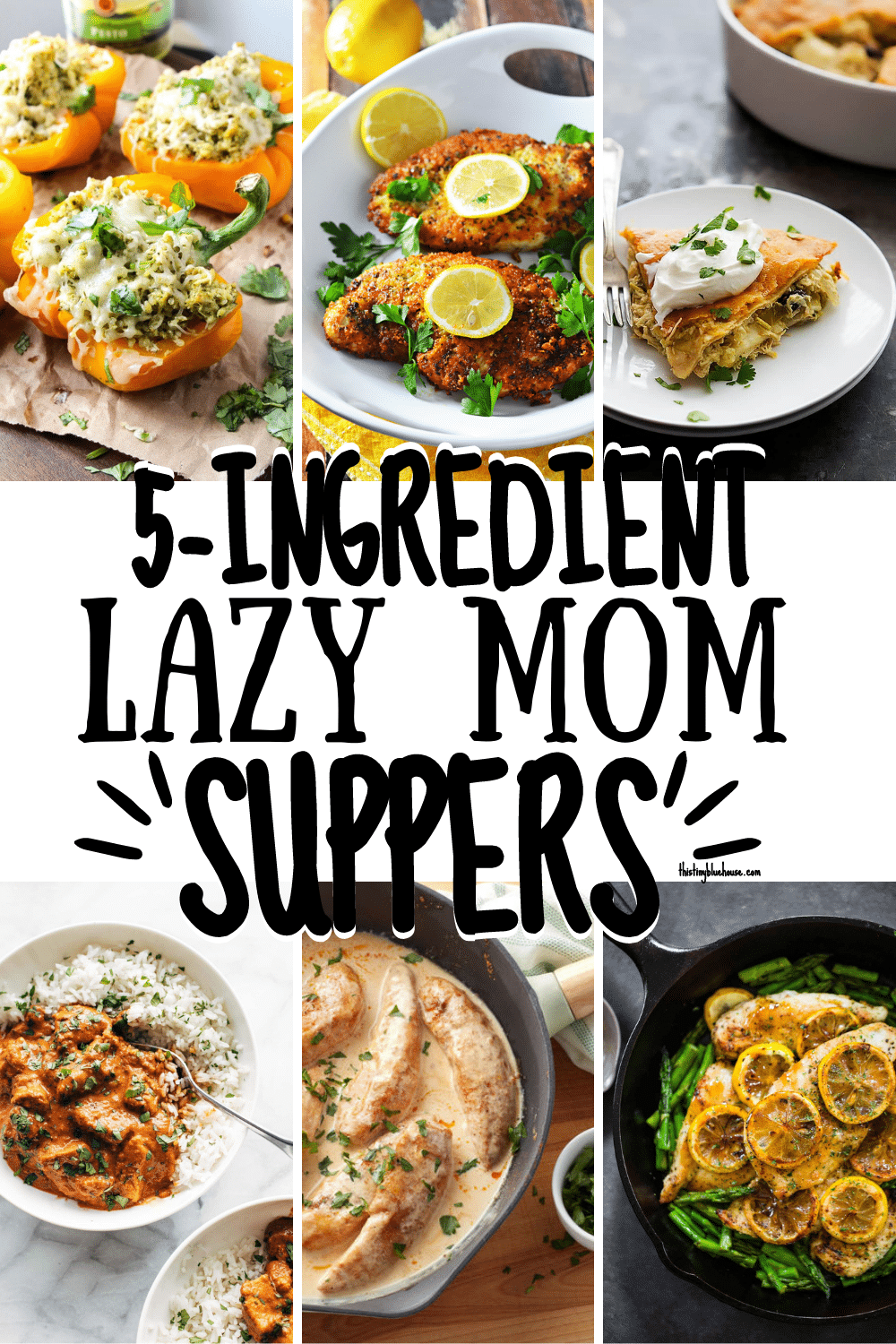 Best Lazy Mom Dinners (Quick & Easy 5-Ingredient Dinners)