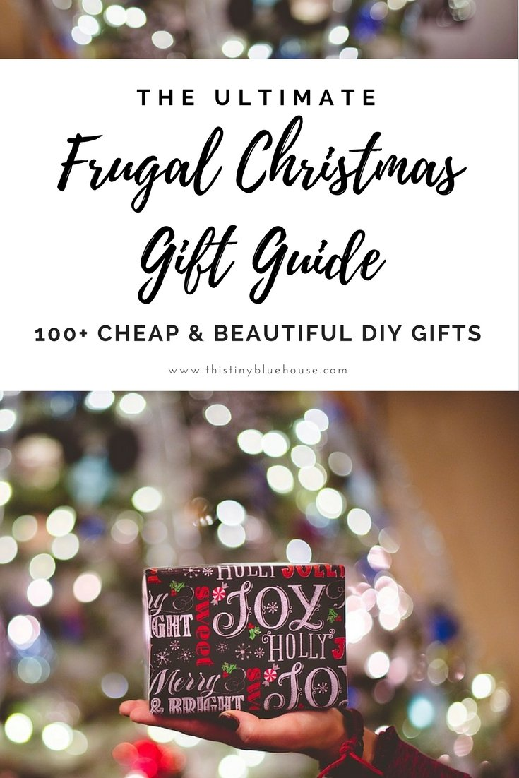 100 Cheap & Gorgeous DIY Christmas Presents for the Whole Family | Frugal Holidays | Christmas | DIY Christmas Gifts | Frugal Christmas Gifts | Frugal Gift Giving | #Christmas #DIYChristmas #ChristmasGifts #FrugalChristmasGifts #DIYPresents