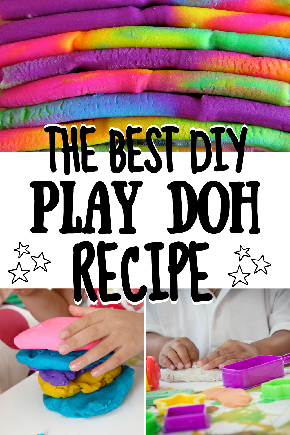 The Only Homemade Play Doh Recipe You'll Ever Need