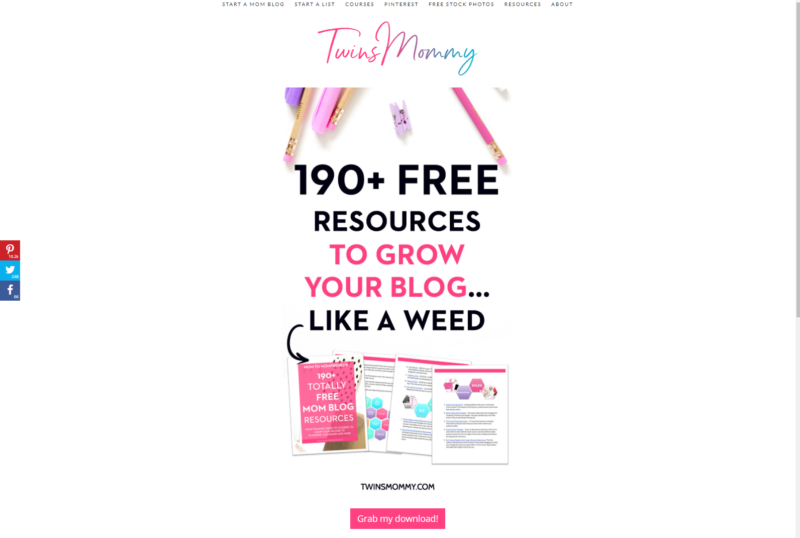 Here are 4 of the most valuable and useful blog freebies to help grow your blog on the internet. Regardless of your niche, these blog freebies to help grow your blog will help you turn a profit with your blog quickly and efficiently. #blogging #bloggingfreebies #blogtutorials #bloggingforbeginners #bloggingresources #bloggingresourcestips #bloggingresourcestips&tricks