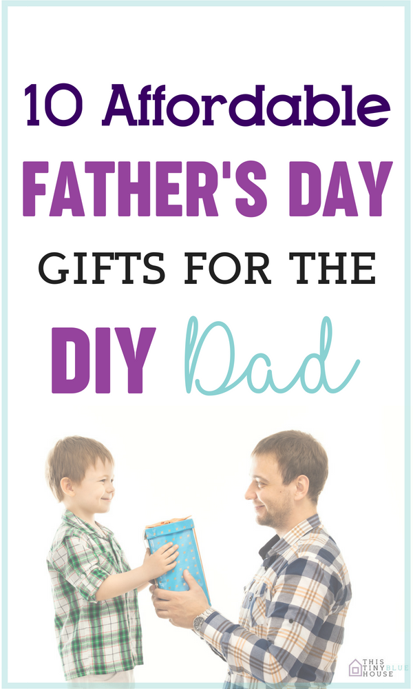 Are you looking for a super cool affordable gift for the handy DIY dad in your life? Here is a killer gift guide with a ton of super awesome practical gift suggestions to show Dad how special and appreciated he is. #fathersdaygifts #fathersday #fathersdaygiftguide #fathersdaydiygifts #giftguidesformen #giftsforhusband #giftsfordad