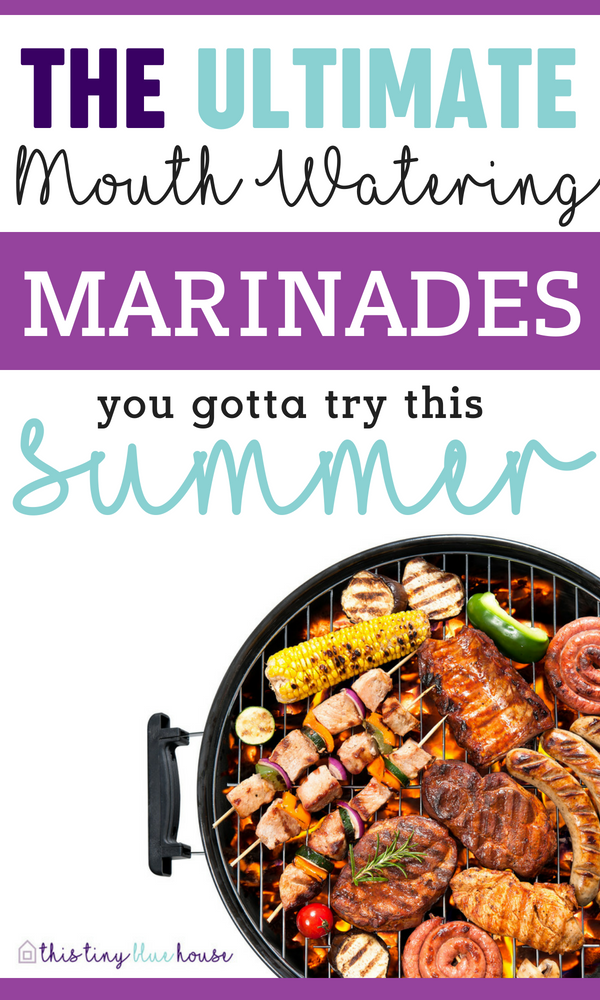 Are you looking to wow your guests at your next BBQ? Here are 25 mouthwatering BBQ marinades that'll make you a BBQ Pro. #marindades #bbqmarinades #marinadesforchicken #marinadesforbeef #marinadesforpork #bbqideas #summerbbqideas #grillingideas #bbqrecipes #bbqpartyideas #bbqsauce #bbqsaucerecipes