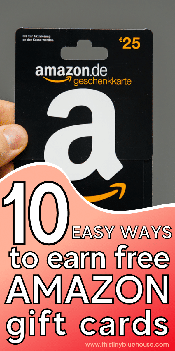 10 Clever Ways To Earn FREE Amazon Gift Cards in 2021