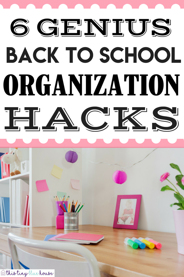 Epic Organization Hacks You Gotta Try This School Year #backtoschool #backtoschooltips #backtoschoolhacks #backtoschoolorganization #backtoschooldiy #backtoschoolideas #