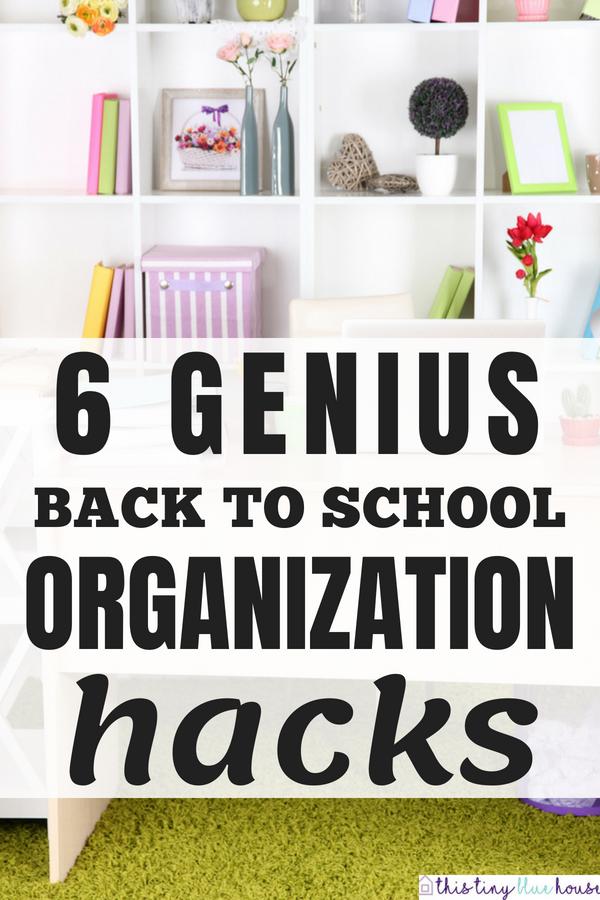Epic Organization Hacks You Gotta Try This School Year #backtoschool #backtoschooltips #backtoschoolhacks #backtoschoolorganization #backtoschooldiy #backtoschoolideas