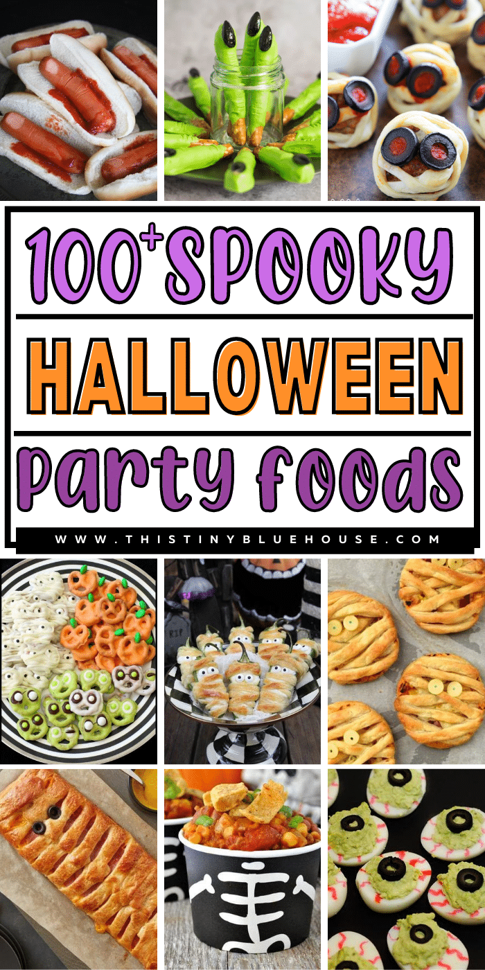 100+ Super Spooky Halloween Party Food Ideas