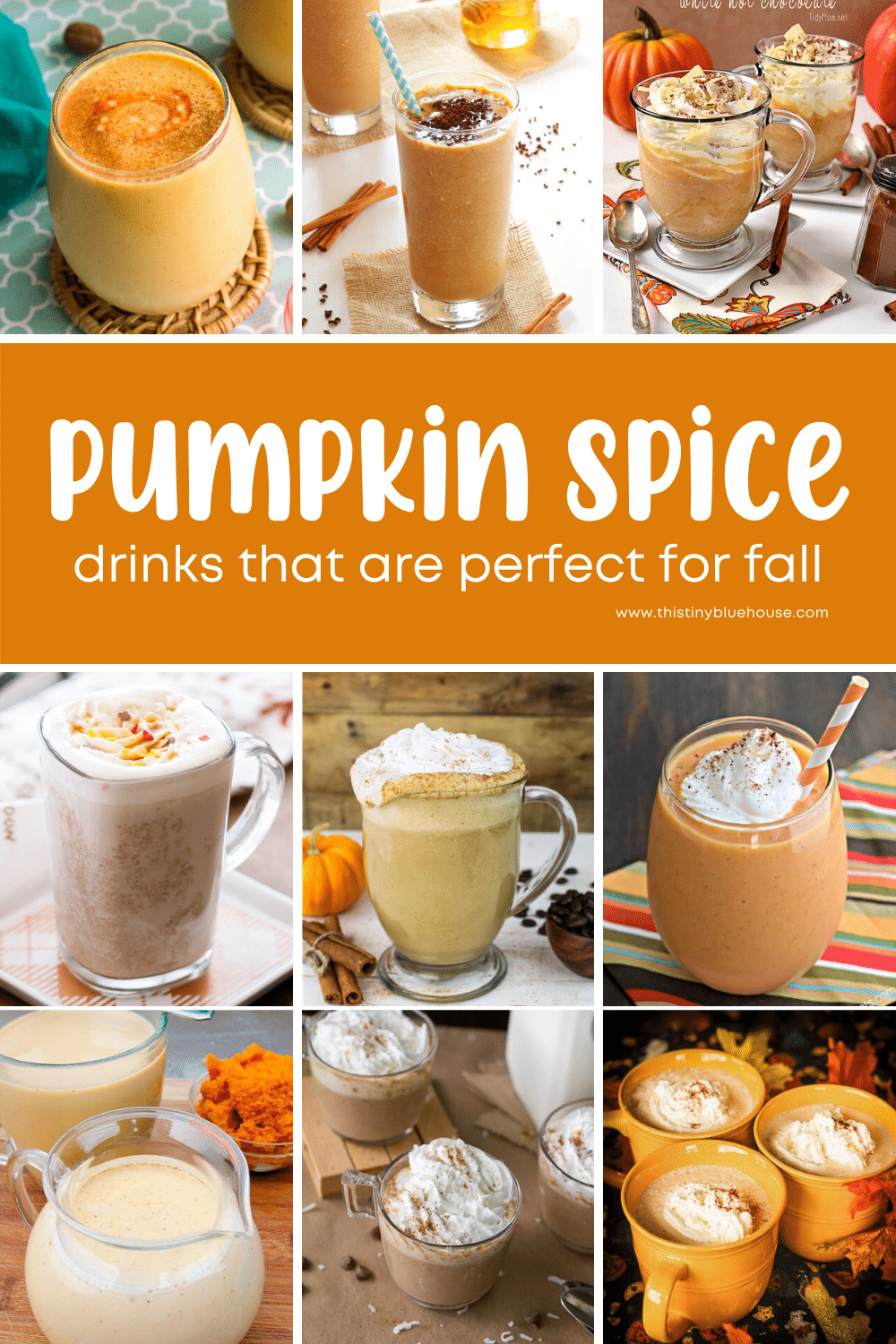 15 Pumpkin Spice Drinks Perfect For Fall