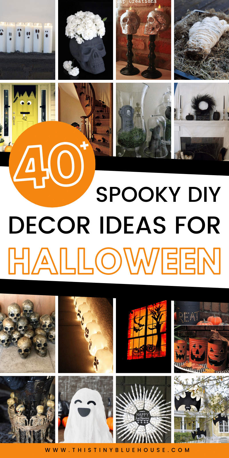 40 Best Diy Dollar Store Halloween Decoration Ideas This Tiny Blue House