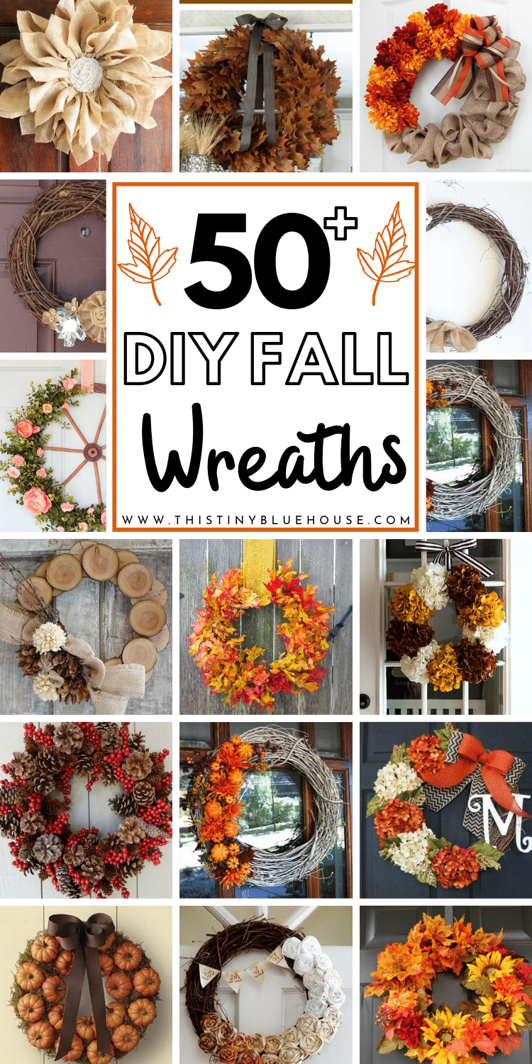 Glam up your house this fall with one of these gorgeous best cheap fall wreath ideas. Use dollar store supplies to make a drool worthy front door wreath. #fallwreaths #fallwreathsdiy #fallwreathsforfrontdoor #easyfallwreaths #dollarstorefallwreaths #falldecor #DIYfalldecor #fallporchideas