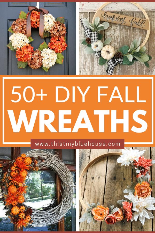 50+ Gorgeous DIY Fall Wreaths