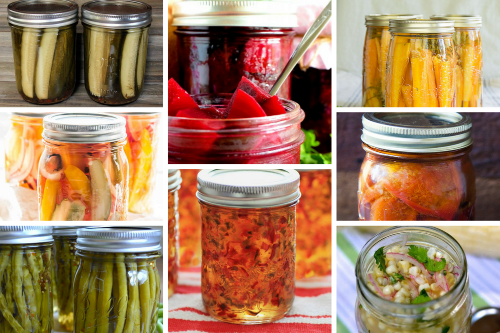 100 Canning Summer Produce Recipes. Over 100 delicious ways to can and preserve summer fruits and vegetables #canningrecipes #canning #canningrecipesforbeginners #canningrecipeswaterbath #canningrecipesforpickles #canningrecipesunique #canningrecipesunusual #canningrecipesvegetables #canningrecipesfruits
