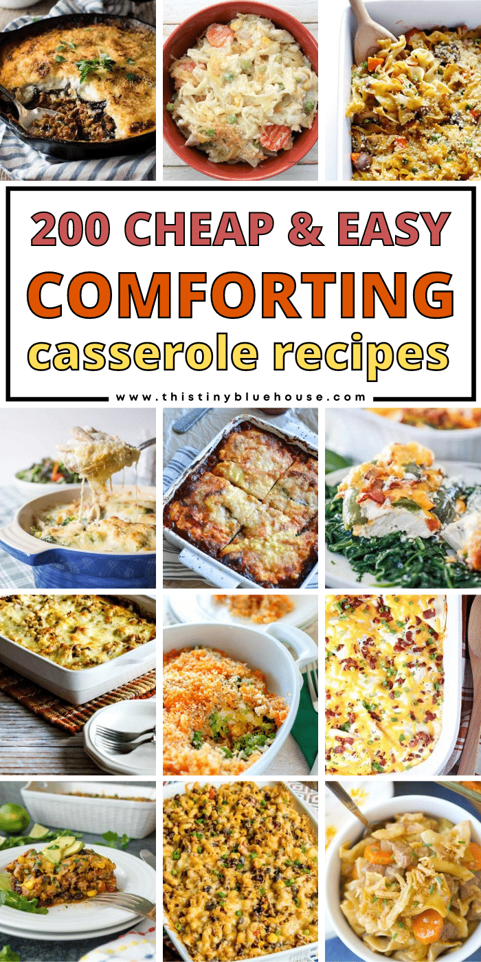 200 Beyond Delicious Cheap & Easy Casserole Recipes