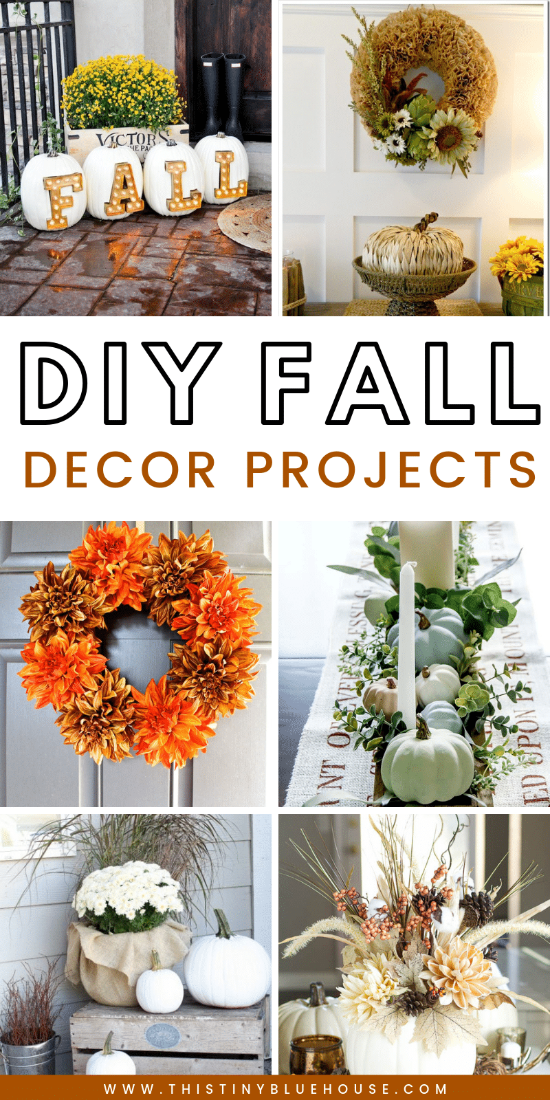 35 Stunning Dollar Store DIY Fall Decor Ideas - This Tiny ...