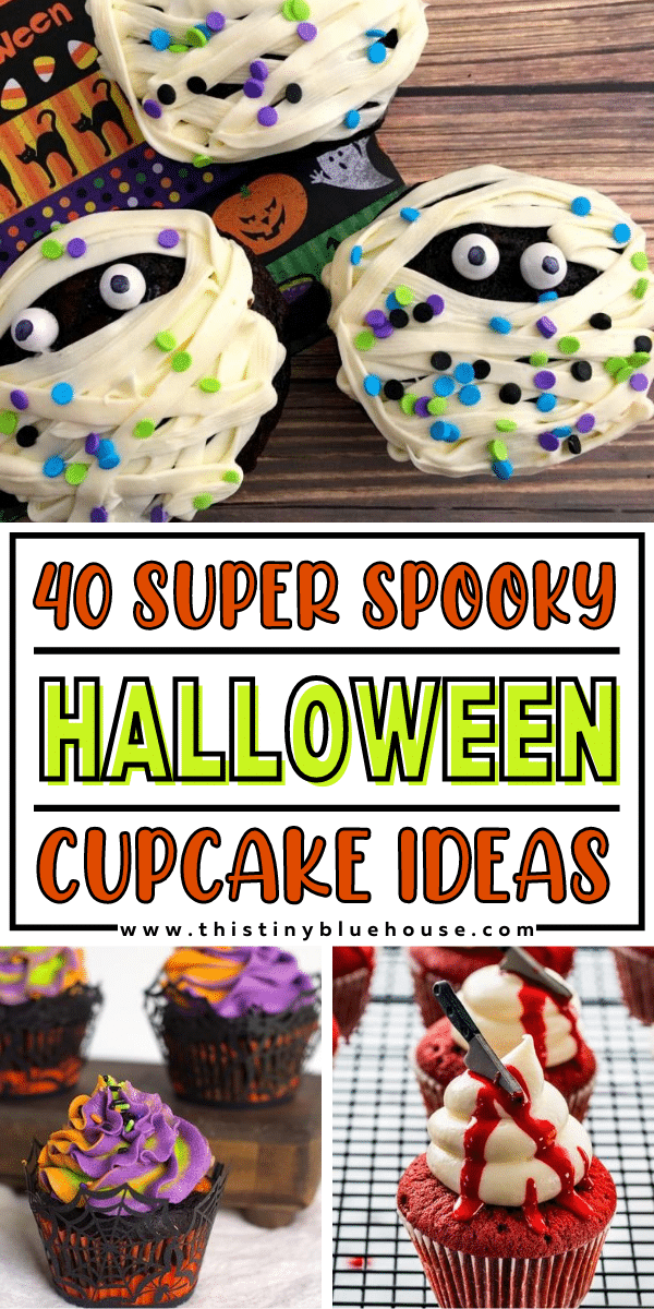 40 Super Spooky Halloween Cupcake Ideas