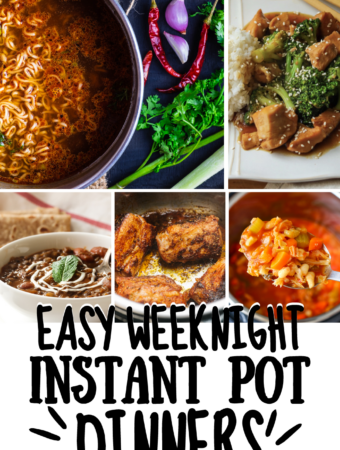 Super Simple and Tasty Weeknight Instant Pot Suppers