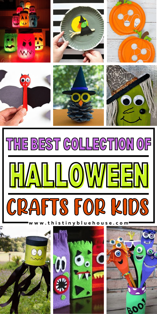 The Best Ultimate Collection Of Halloween Crafts For Kids