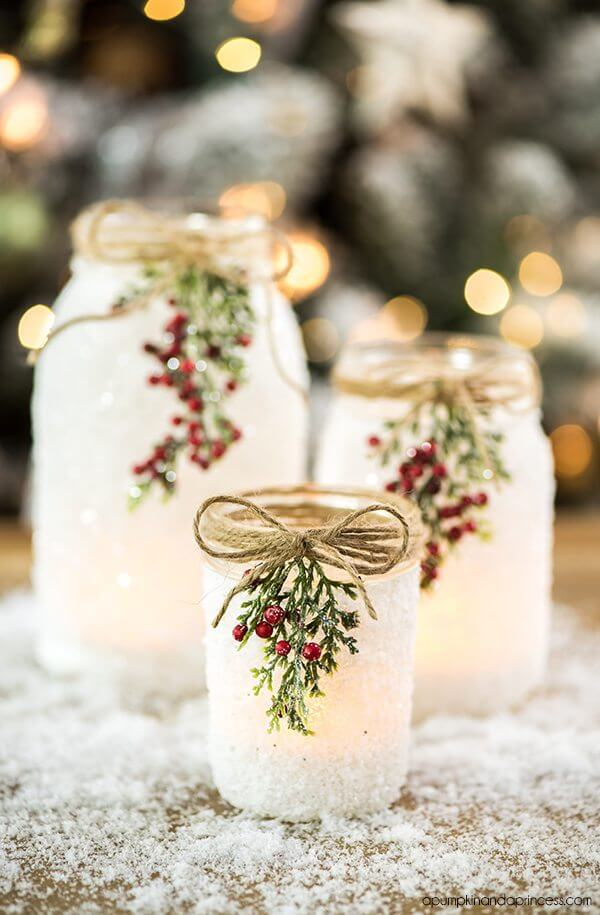 15 Best Easy Mason Jar Christmas Craft Ideas This Tiny Blue House