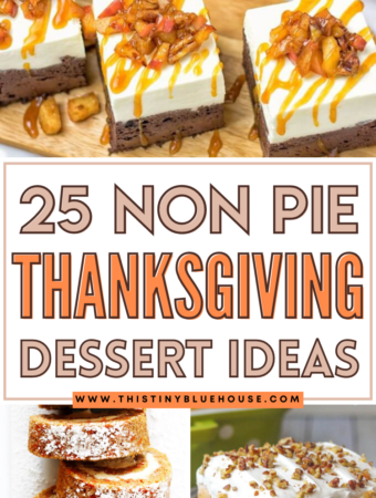25 Best Non Pie Thanksgiving Dessert Ideas