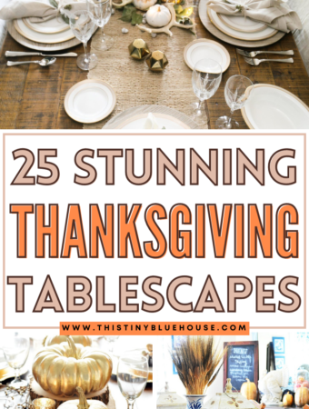 Stunning Thanksgiving Tablescapes
