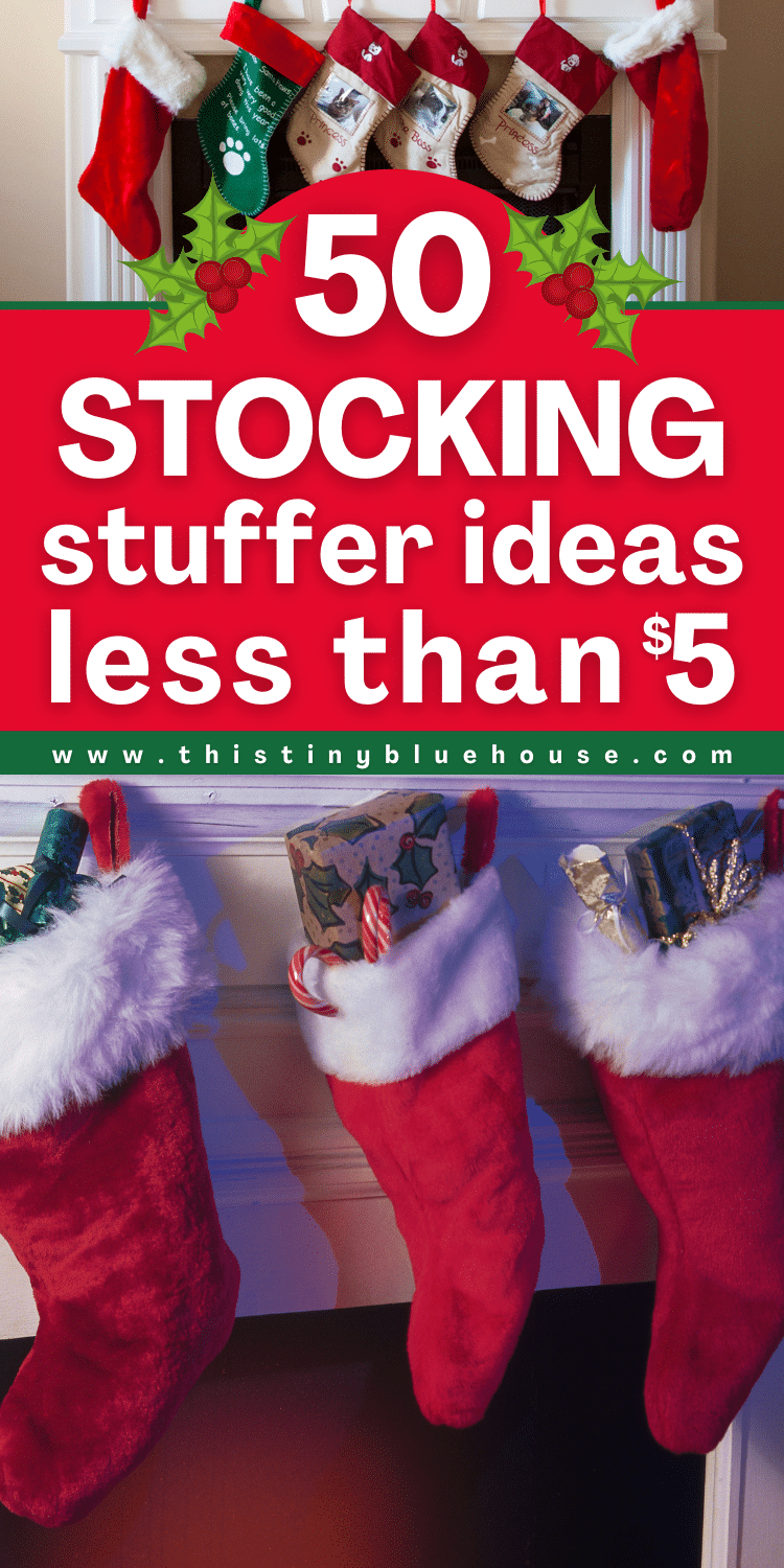 50+ (5$ Or less) Stocking Stuffers For The Whole Family