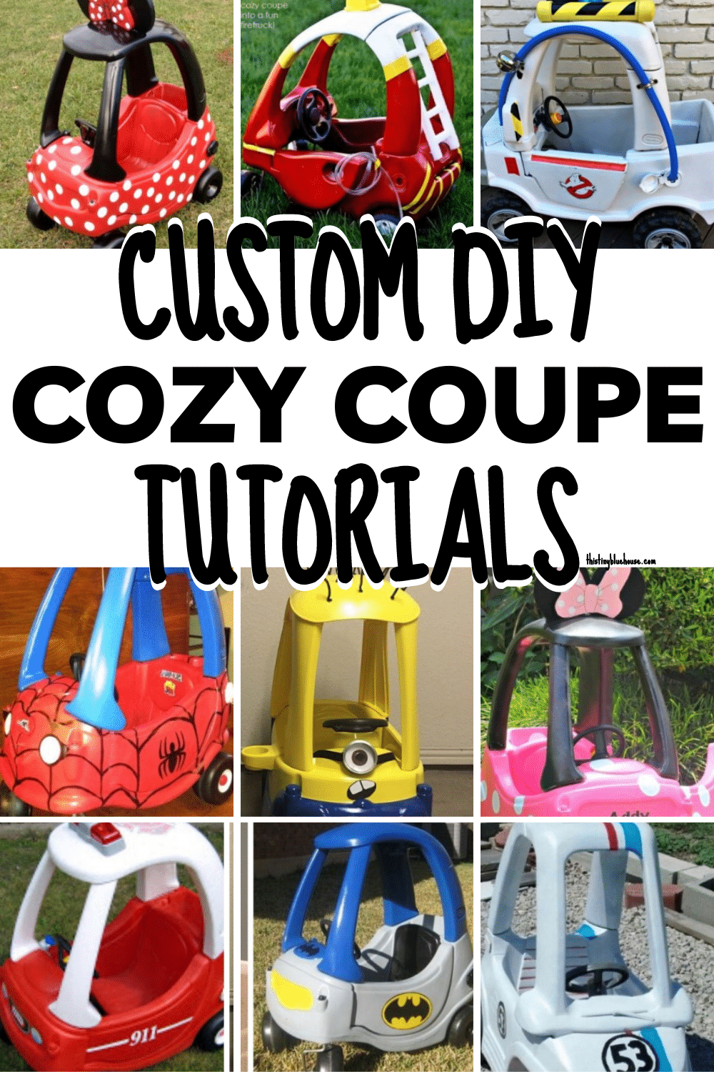Custom DIY Cozy Coupe Tutorials
