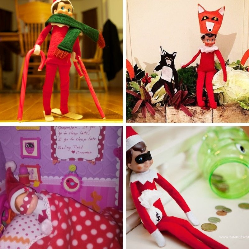Don't sweat your Elf On The Shelf this year and totally impress your kids! Here's 100 best easy Elf On The Shelf Ideas to totally rock Christmas this year! #ElfOnTheShelfIdeas #ElfOnTheShelfIdeasForToddlers #ElfOnTheShelfIdeasForKids #ElfOnTheShelfIdeasFunny #ElfOnTheShelfIdeasEasy #ElfOnTheShelfIdeas2018 #ElfOnTheShelfIdeasCreative #ElfOnTheShelfIdeasSimple