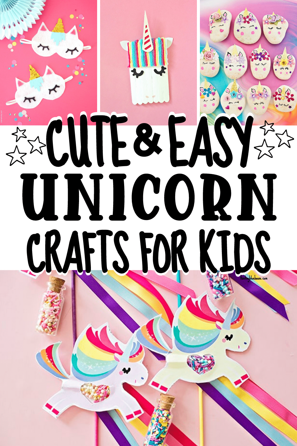 Cute & Easy Unicorn Crafts For Kids