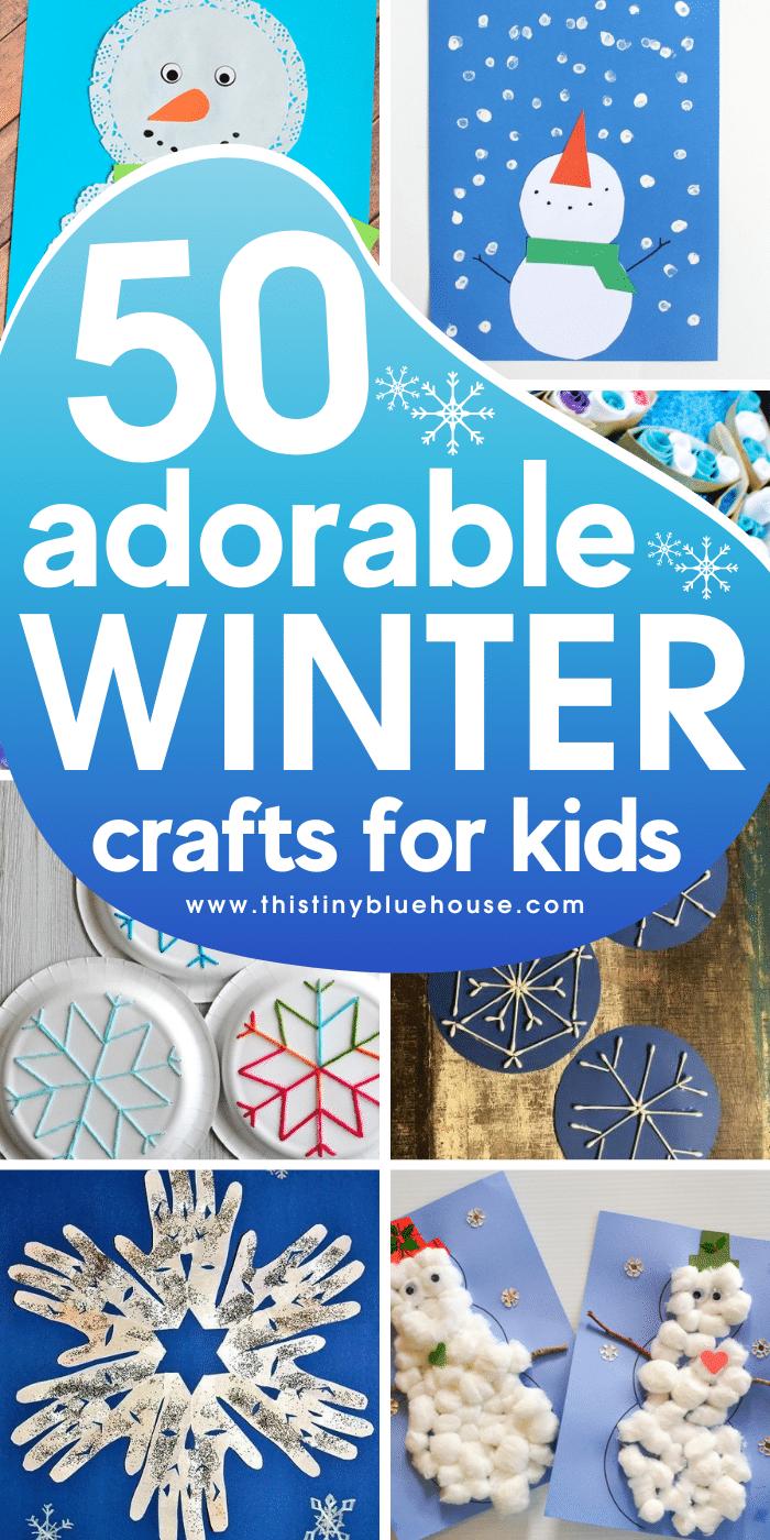 50 Super Cute Winter Crafts For Kids