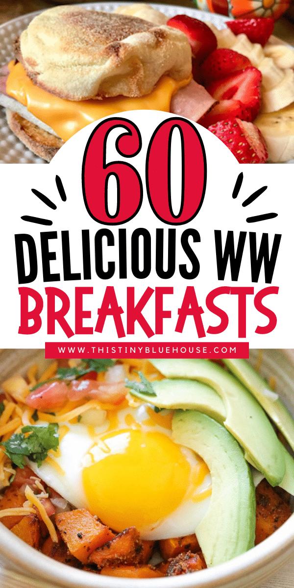 60 Delicious Weight Watcher's Breakfast Ideas