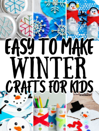 Easy To Make WINTER Crafts For Kids
