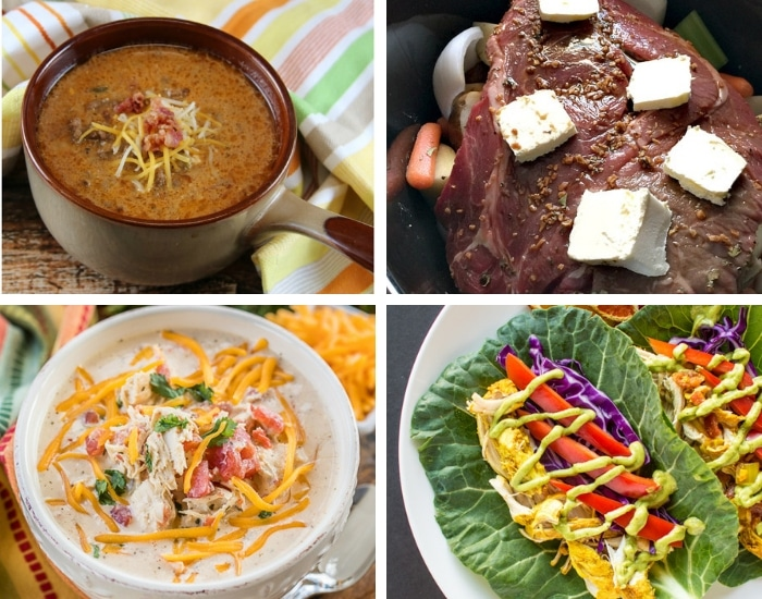 The easiest and BEST Crock Pot Keto dinners to make low carb dinners an absolute breeze. 75 Delicious, and easy Crock Pot Keto Dinners that'll make dieting easy! #ketoforbeginners #ketorecipes #ketodinnerrecipes #ketodinnerrecipeseasy #ketoslowcookerrecipes #ketoslowcookerrecipeslowcarb #lowcarbslowcookerrecipes #ketocrockpotrecipes #ketocrockpotdinners