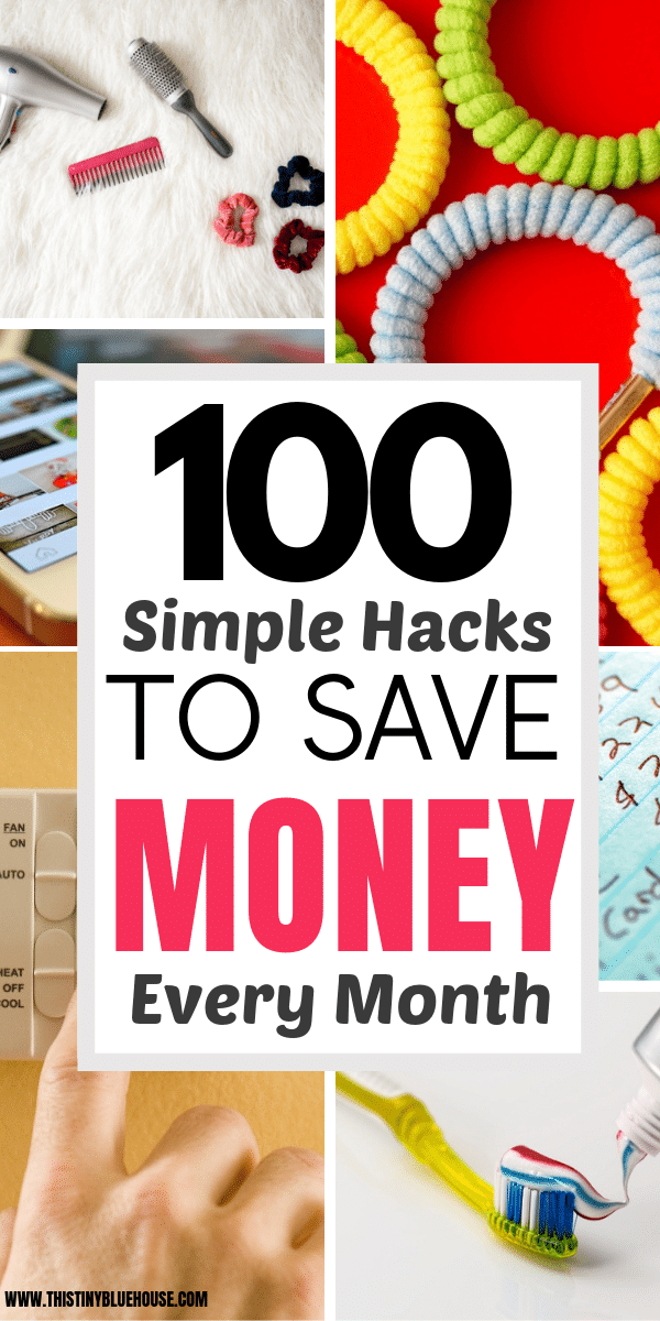 are you looking for realistic ways to save more cash in 2019? Here are 100 clever ways to save some extra cash every month! #frugalliving #waystosavemoney #easywaystosavemoney