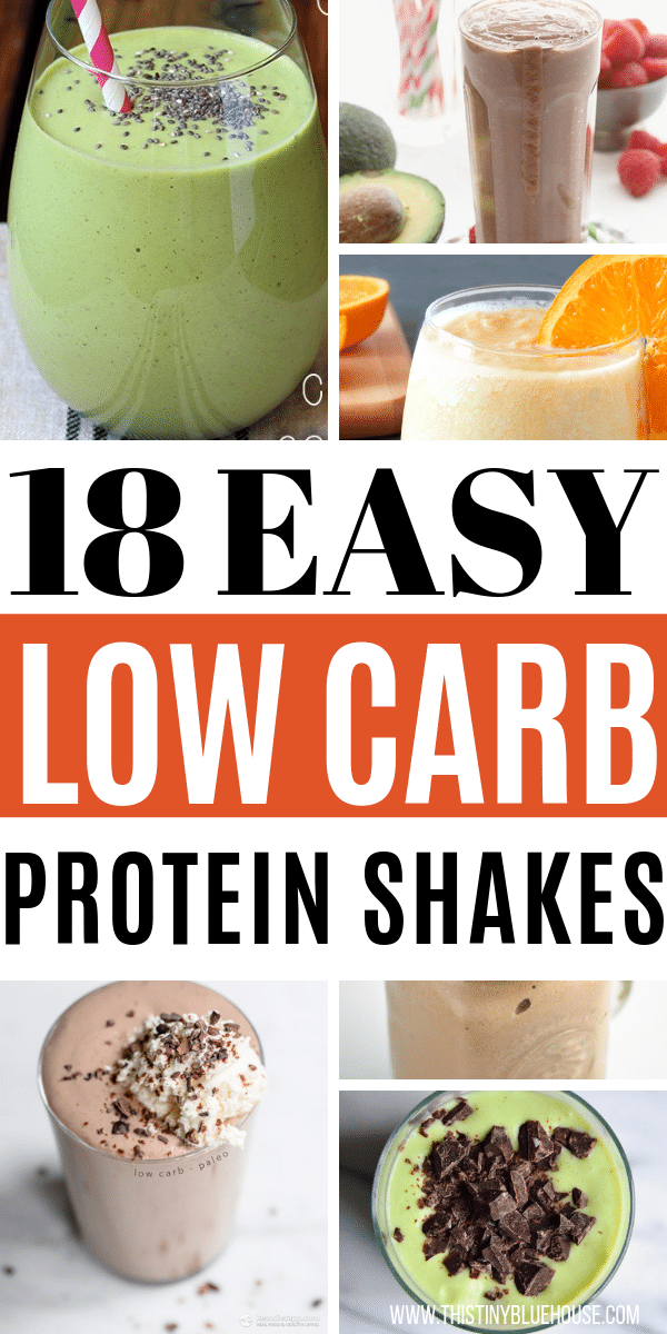 Looking for a quick and easy Keto protein shake recipe? Here are 18 delicious and easy keto protein shakes that are a great breakfast, lunch or snack idea. #lowcarbsmoothies #ketosmoothies #easylowcarbsmoothies