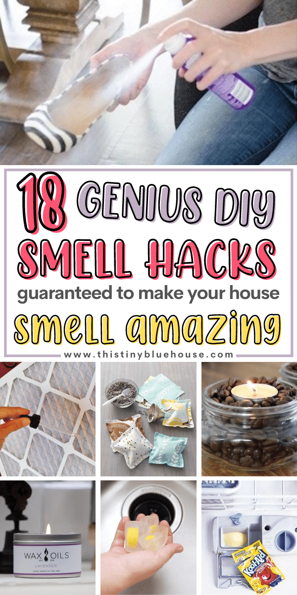 18 Genius DIY Smell Hacks to Make Your House Smell Amazing