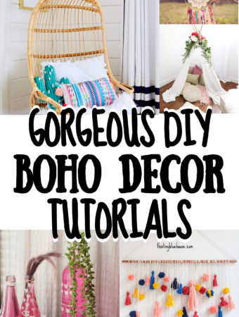 Gorgeous DIY Boho Decor Tutorials