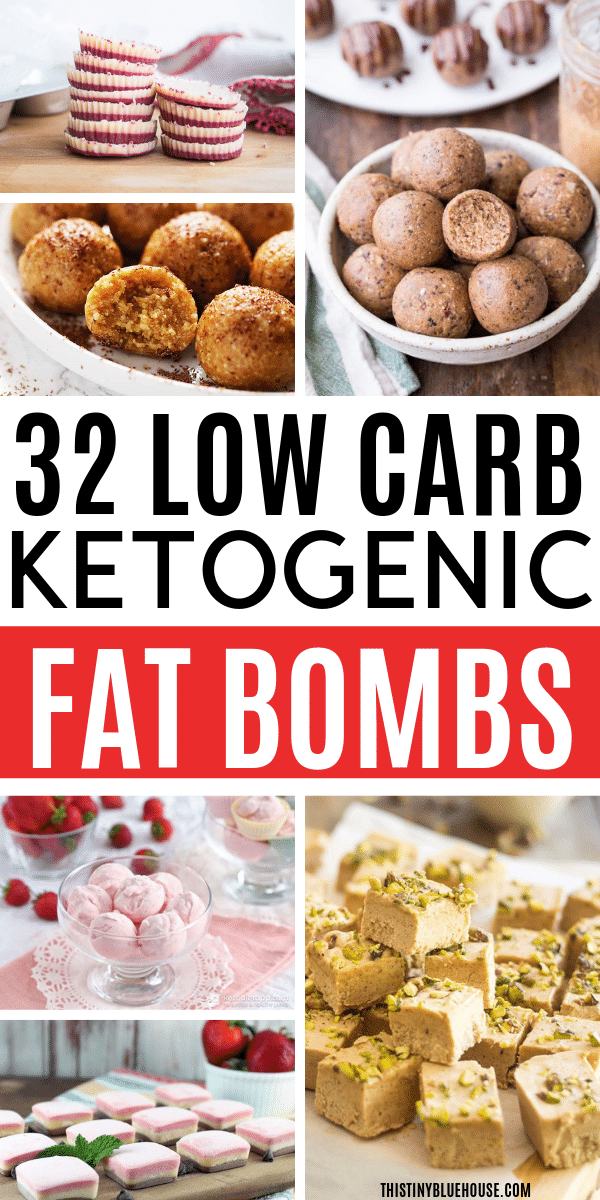 Stay full longer and feel more energized with one of these delicious and easy craving buster keto fat bombs. Here are 32 decadent fat bomb recipes you gotta try! #easyketofatbombs #ketofatbombrecipes #ketofatbombideas
