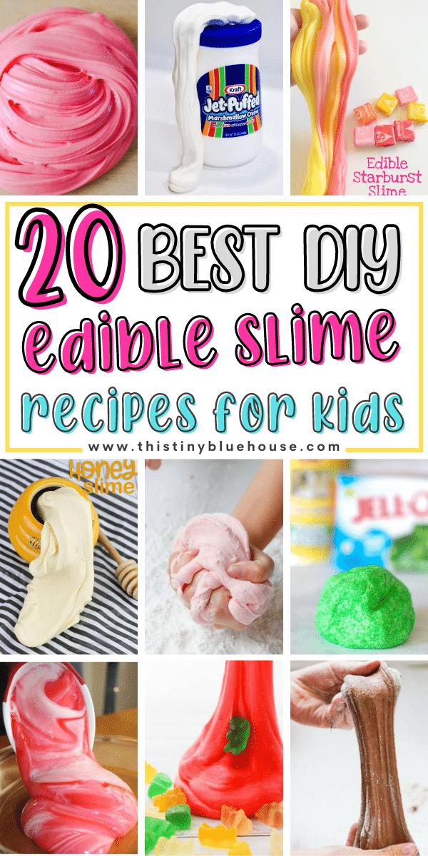20 Best DIY Edible Slime Recipes For Kids