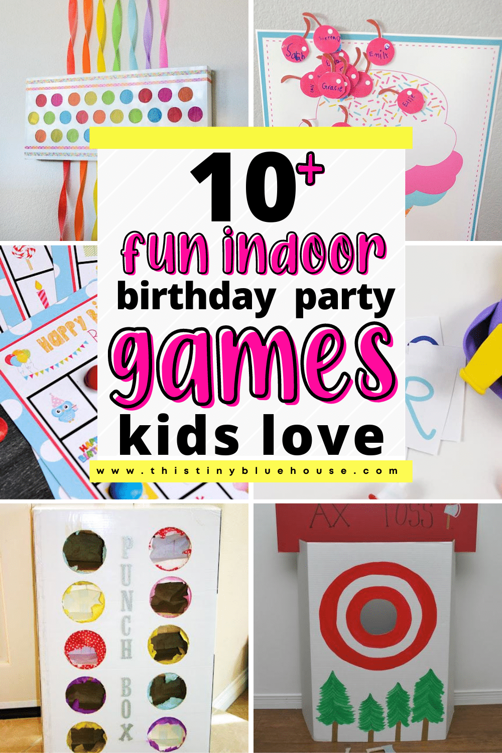 12 Seriously Fun Games For Indoor Birthday Parties