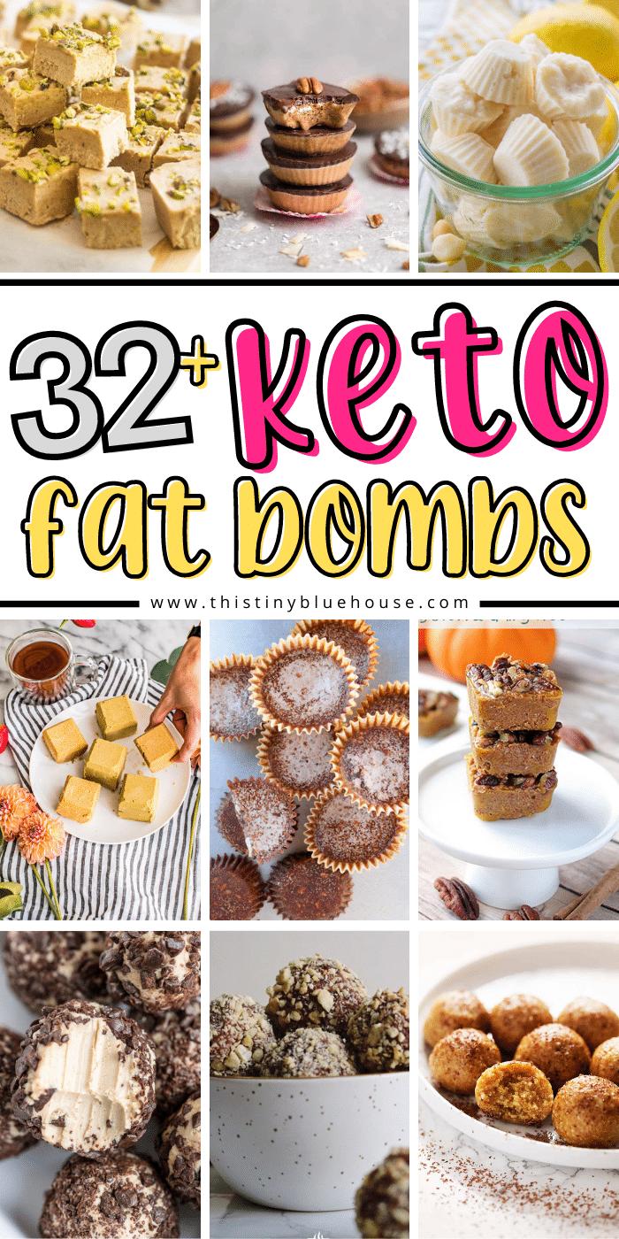 30+ Craving Busting Keto Fat Bombs