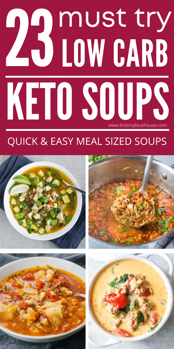 20+ Hearty & Filling Keto Soups