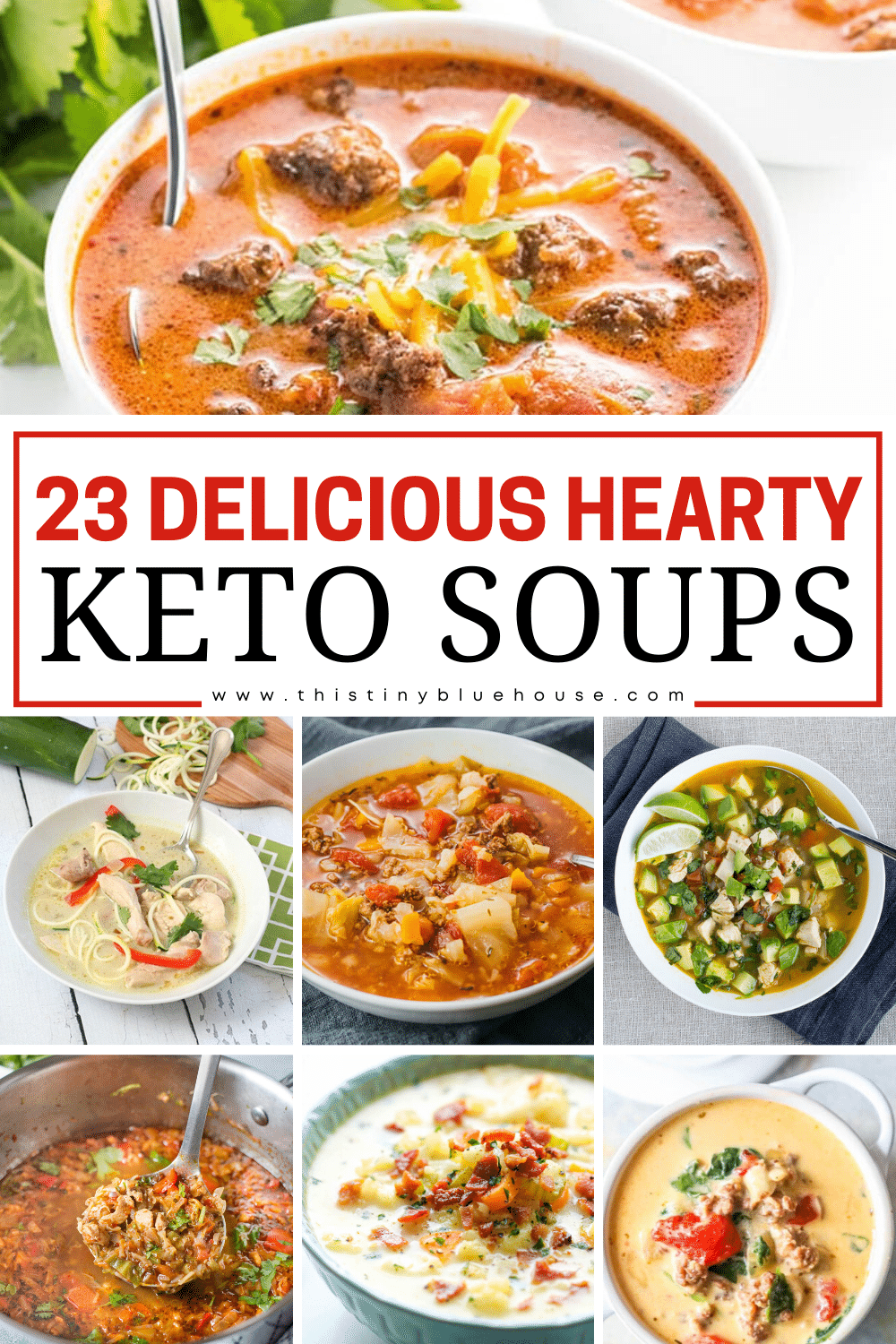 23 Delicious Must Try Hearty Keto Soups