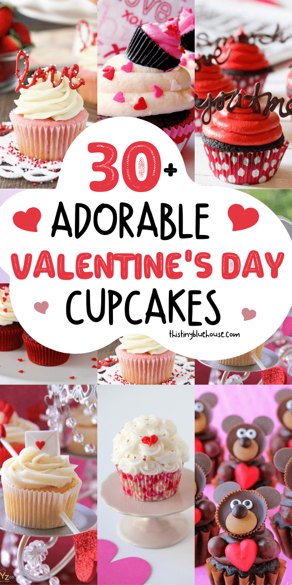 30+ Adorable Cupcakes For Valentine's Day