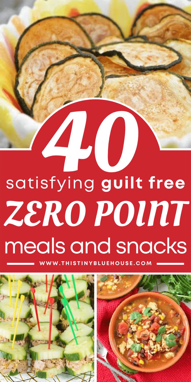 40 Guilt Free Zero Point Weight Watcher's Food Ideas