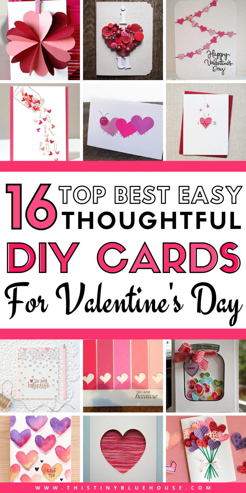 Offer that special someone in your life a totally custom homemade adorable DIY Valentine's Day Card this year. Nothing says I love you more than homemade! #DIYvalentinescard #EasyDIYvalentinesdaycard #DIYvdaycard